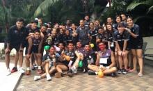 น่ารัก!! วอลเลย์บอลทีมชาติไทย จัดงานรับน้องใหม่ที่มาเลเซีย!!