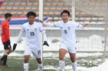 เอกนิษฐ์จ่ายสามยิงหนึ่ง! ช้างศึก U19 ฝ่าหิมะดับมองโกเลีย 5-2 คัดเอเชียนัดสอง