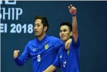 ประเดิมสวย!ฟุตซอลไทยถล่มจอร์แดน 5-1 ศึกชิงแชมป์เอเชีย(ไฮไลต์)