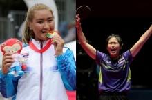 2 นักกีฬาสาวไทย หญิง-นก ติดท็อป 10 ดาวเด่นซีเกมส์