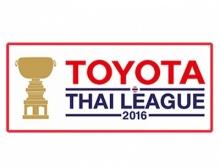 ผลการแข่งขัน - ตารางคะแนน ไทยลีก 2016 (อัพเดท 29 พ.ค.)